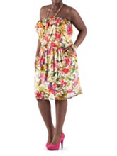 /product/Plus-Allover-Floral-Print-Tube-Dress-with-Pockets/156728.uts