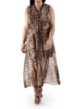 /product/Plus-Lace-Up-Animal-Print-Maxi-Dress-with-Trim/156909.uts