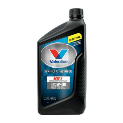 Valvoline Vr1 Racing 10w30 Motor Oil 1 Qt Val 679083
