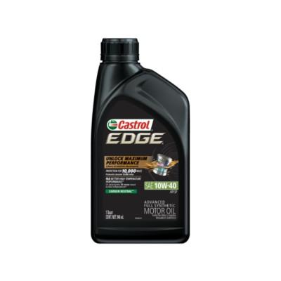 Castrol edge 10w40 motor oil 1 qt cas 246 buy online for Buy motor oil online