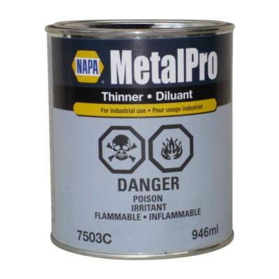 Paint Thinner / Reducer - Automotive Refinishing Metalpro