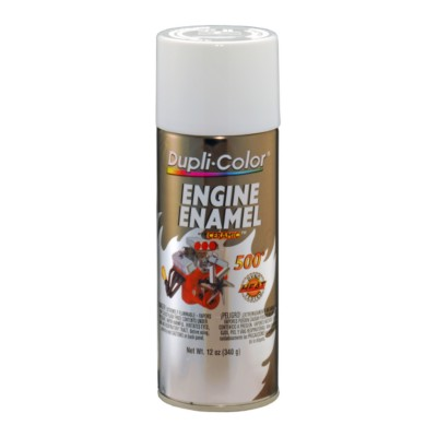 Spray Paint Specialty Hi Temp White Engine Enamel Dc
