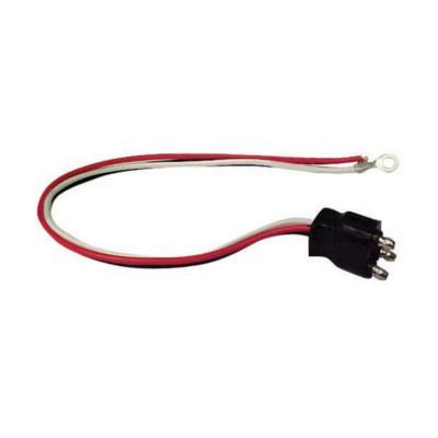 trailer wire connector wire pigtail bk apbp buy online trailer wire connector 3 wire pigtail bk a45pbp