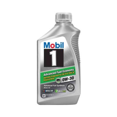 mobil 1 advanced fuel economy 0w30 motor oil 1 qt mob. Black Bedroom Furniture Sets. Home Design Ideas