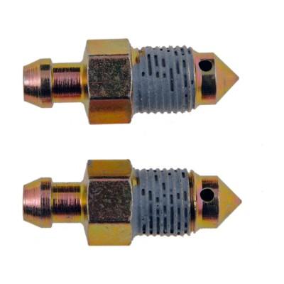 how to open brake bleeder screw
