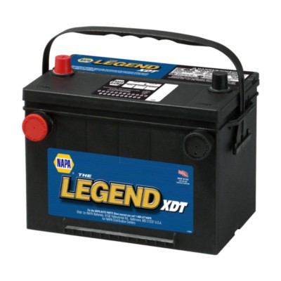 Battery Napa Xdt 75 Month 12 Volts Group 34 78 800 Cca