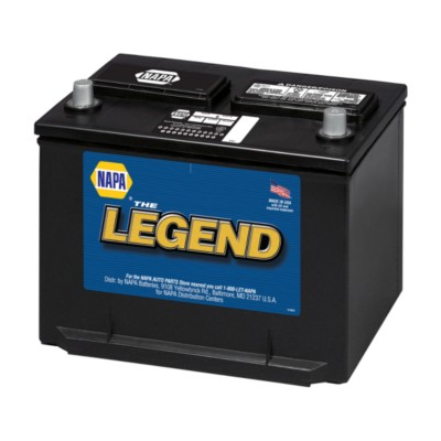 Battery Napa Legend 75 Month 12 Volts Group 36r 650 Cca Top Post Bat 7536r Buy Online Napa