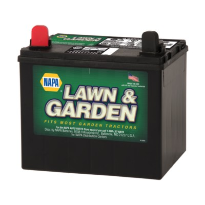 NAPA Lawn & Garden 12V U1 Battery - 230 CCA BAT 8223