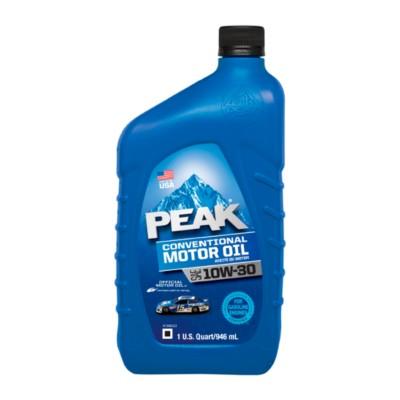Peak Conventional 10w30 Motor Oil 1 Qt Pmo Conv10w30