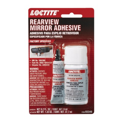 Rear View Mirror Adhesive Loctite 2 Part Kit 6 Ml Ncb
