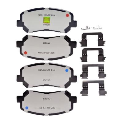 Brake Pads Front Adaptive One Ceramic Ado Ad8836