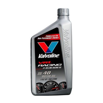 Valvoline Vr1 Racing Sae 40 Motor Oil 1 Qt Val 229 Buy