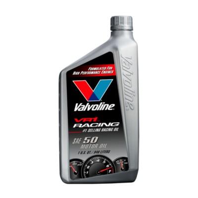 Valvoline vr1 racing sae 50 motor oil 1 qt val 235 buy for Buy motor oil online