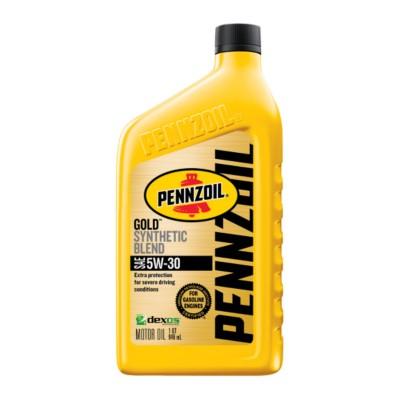 Pennzoil Gold 5w30 Motor Oil 1 Qt Pen 550042582 Buy