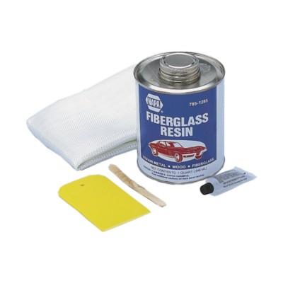 how to use fibreglass repair kit