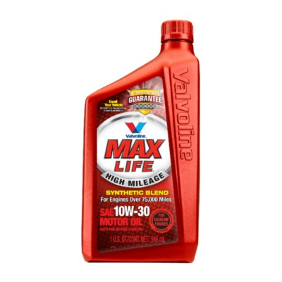 Valvoline maxlife high mileage 10w30 motor oil 1 qt val for Why use synthetic blend motor oil