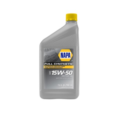 Napa Full Synthetic 15w50 Motor Oil 1 Qt Nol 75510 Buy Online Napa Auto Parts