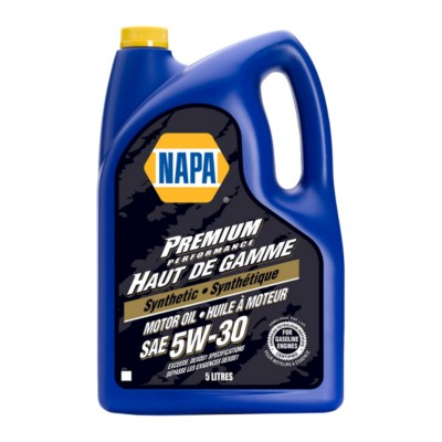 NAPA Preimium Synthetic 5W30 Motor Oil