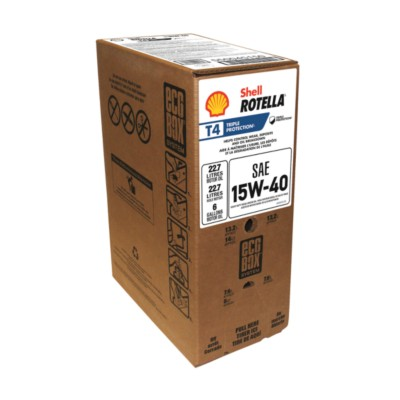 Shell Rotella T4 Triple Protection Motor Oil 15W40 SHL 550045150
