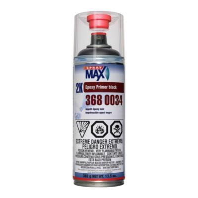 2K Epoxy Primer Filler - Black - SprayMax MAX 3680034 | Product Details