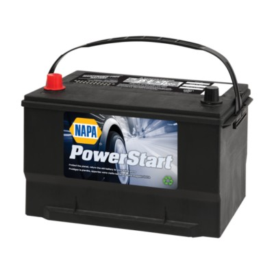 NAPA Powerstart Vehicle Battery BCI No  65 825 CCA Wet NAB 6502