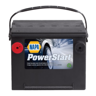 NAPA Powerstart Battery BCI No  75 665 A Wet NAB 7503