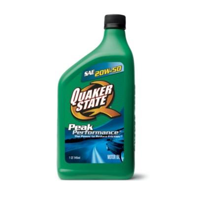 Quaker state advanced durability 20w50 motor oil 1 qt qo for Quaker state advanced durability motor oil