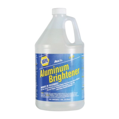 Aluminum Brightener Cleaner 1 Gal Mac Aluminum Brightener