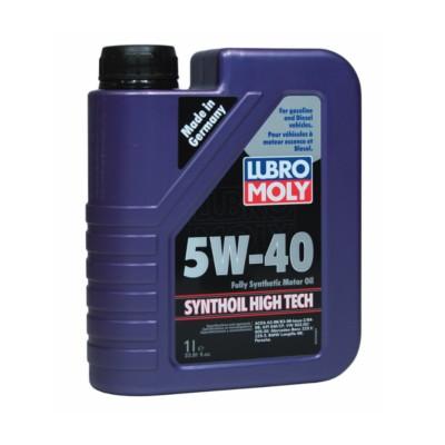 Liqui Moly Synthoil 5w40 Premium Motor Oil 1 L Aic