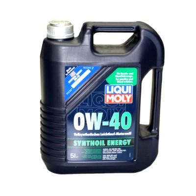 Liqui Moly Synthoil Energy 0w40 Motor Oil 5 L Aic Lm2050