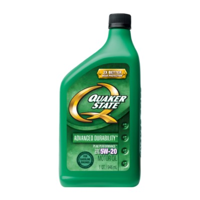 Quaker state advanced durability 5w20 motor oil 1 qt qo for Advance auto parts motor oil