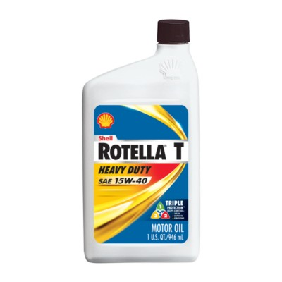 shell rotella t triple protection 15w40 motor oil 1 qt On shell rotella motor oil