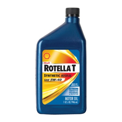 shell rotella t6 full synthetic 5w40 motor oil 1 qt she On shell rotella motor oil