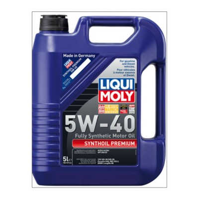 liqui moly synthoil premium 5w40 motor oil 5 l aic. Black Bedroom Furniture Sets. Home Design Ideas