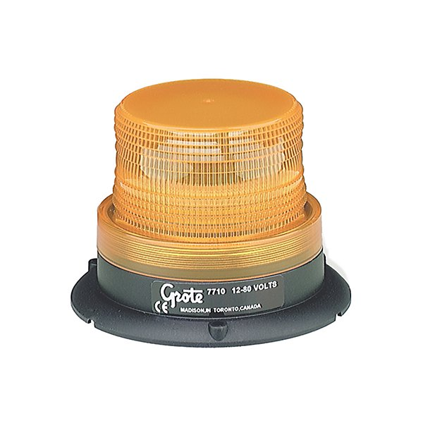 Grote - Lamp / Emergency Single Flash Amber - GRO77103