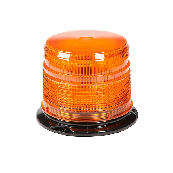 Grote - Led Amber Beacon, Medium Dome, Amber - GRO78853