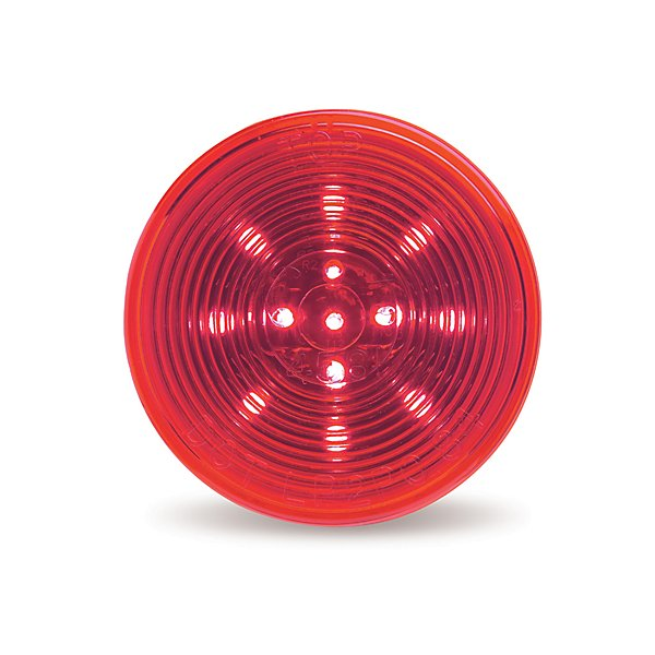 Grote - Lamp / Clearance & Marker 2 1/2 in. Round Hi Count LED Marker Lamp Red - GROG1032