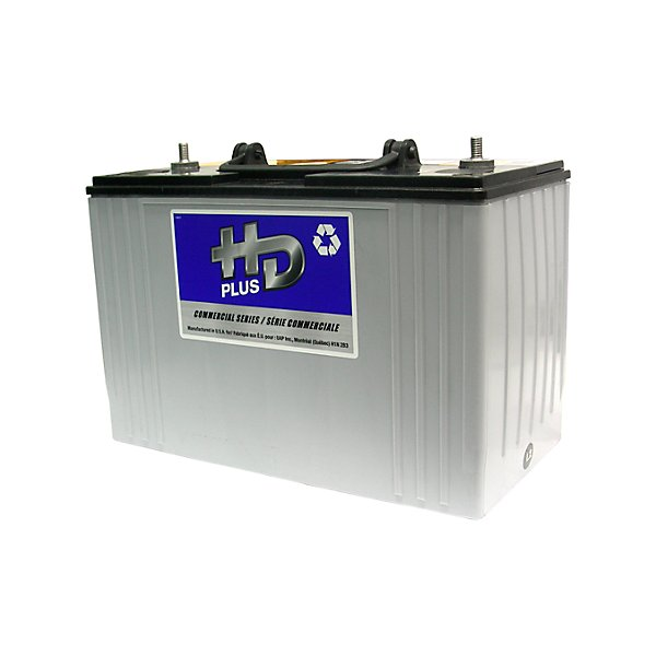 HD Plus - Battery - 12V - Group 31 - 925 CCA - 1050 CA - Absorbed Glass Mat (AGM) - BAT9A31