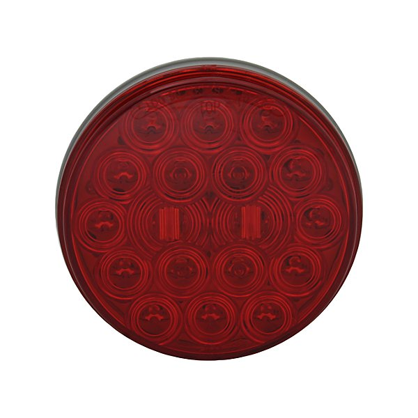 HD Plus - 4In Round Led Stt Red Hd+ - TRLHB9016R