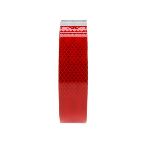 Truck-Lite - Red/White Reflective Tape, 2 in. x 150 ft., Roll - TRL98127