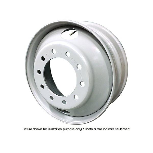 HD Plus - Rim Steel Wheel - 24.5 in. x 8.25 in. - 15 degree Tubeless Demountable - HDW6600X