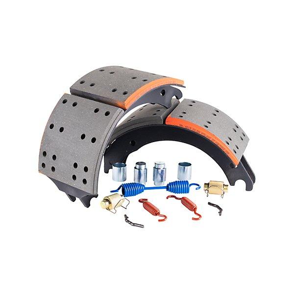 Gorilla Brake & Components - Brake Shoe with Kit 4707 Q Style 23K Standard - GBCGBEK4707Q23STD