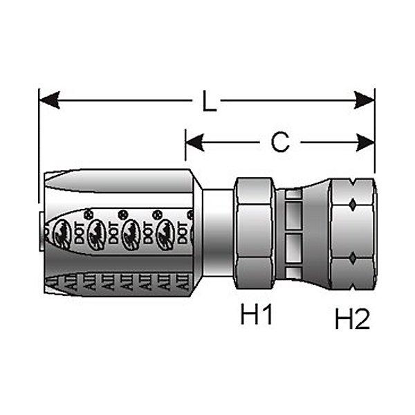 Gates - GATG34200-1212-TRACT - GATG34200-1212