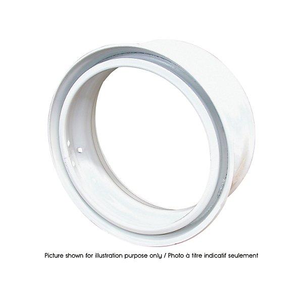 Accuride - Steel Rim 24.5X8.25 White DE - ACC30391245PKWHT21