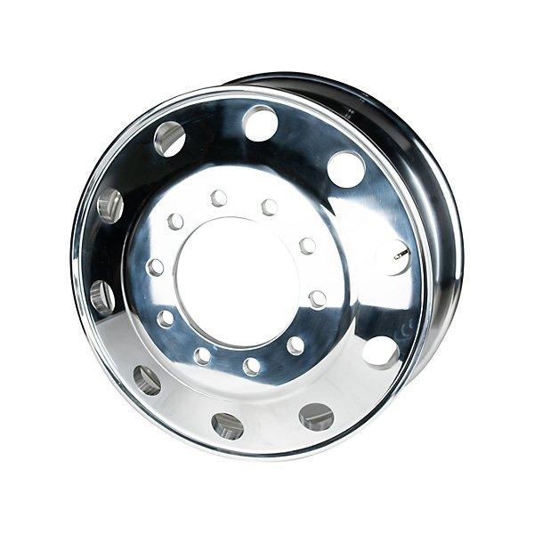 HD Plus - Aluminum Wheel 22.5 x 8.25, 10 bolt holes, hub piloted, both side polished - HDWA228205BBM