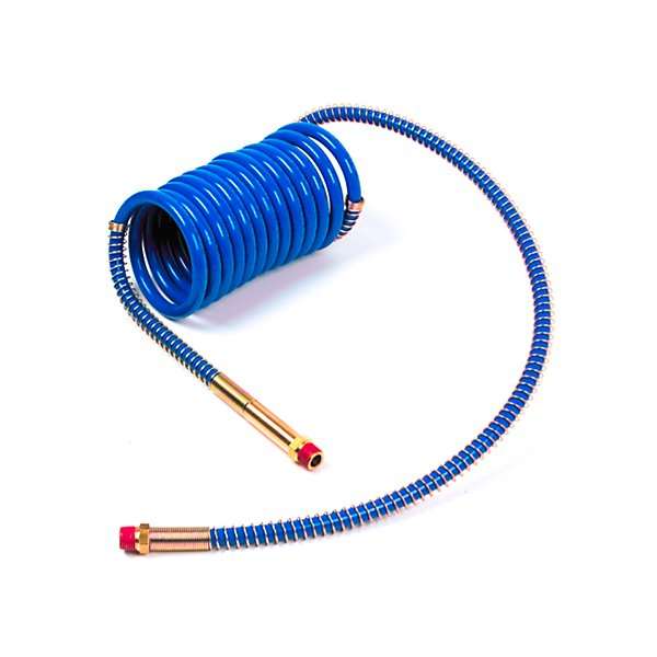 Grote - 15Ft Air Coil Blue, W/12In Leads & 40In Leads - Low Temperature - GRO81-0015-40BC