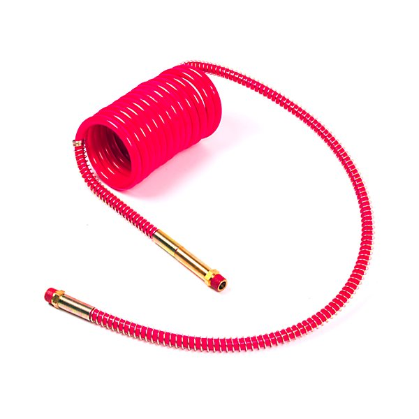 Grote - 15Ft Air Coil Red, W/12In Leads & 40In Leads - Low Temperature - GRO81-0015-40RC