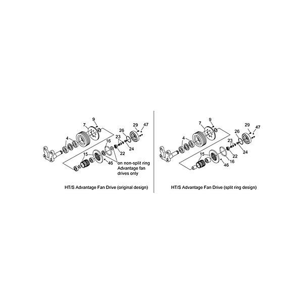 Fan Clutch Repair / Service Kit | Fans & Fan Clutches