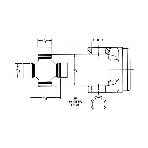 Spicer - SPI5-170X-TRACT - SPI5-170X