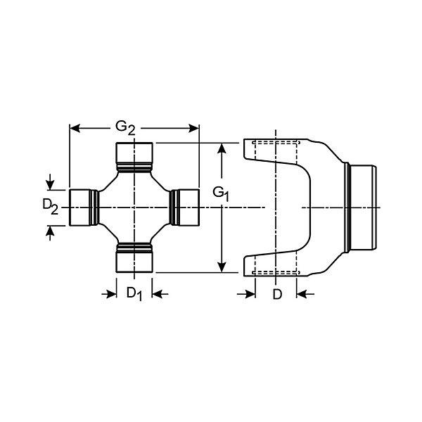 Spicer - SPI5-155X-TRACT - SPI5-155X